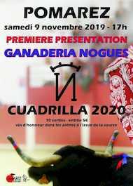 Cuadrilla 2020 - 9 novembre 2019