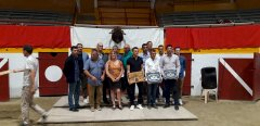 Remise des trophées des 4 courses landaises de la saison à Pomarez